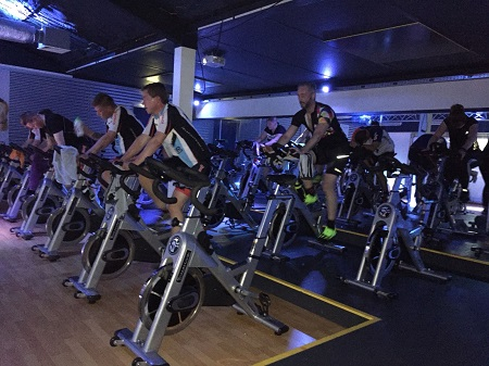 Spinning Clinic groot succes